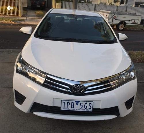 Toyota Corolla 0 Truganina  14347