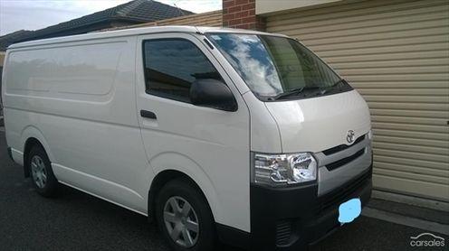 Toyota Hiace 0 Cranbourne  12475