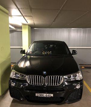 BMW X4 0 Sydney-olympic-park 13552