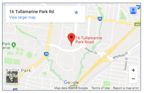 Tullamarine Airport Map